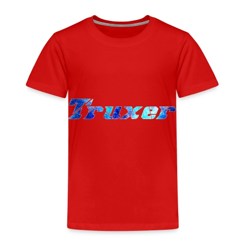 Truxer Name with Sick Blue - Kids' Premium T-Shirt