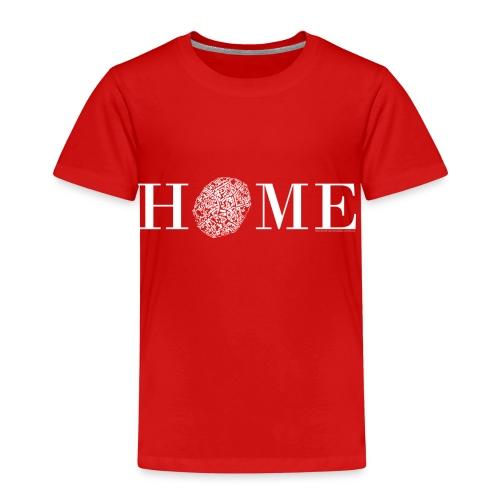 HOME - Nördlingen, Altstadt, weiß - Kinder Premium T-Shirt