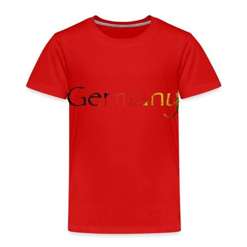 DeutschlandSchriftzug Schräg - Kinder Premium T-Shirt