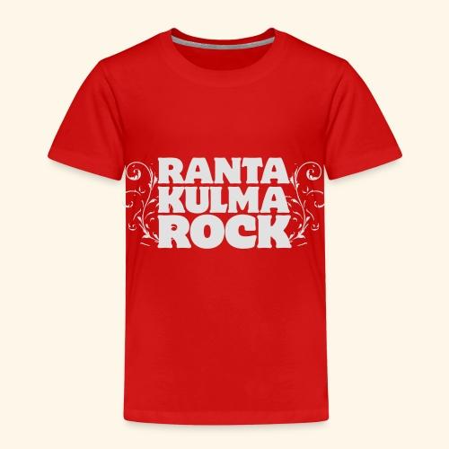 Rantakulmarock -logo - Lasten premium t-paita