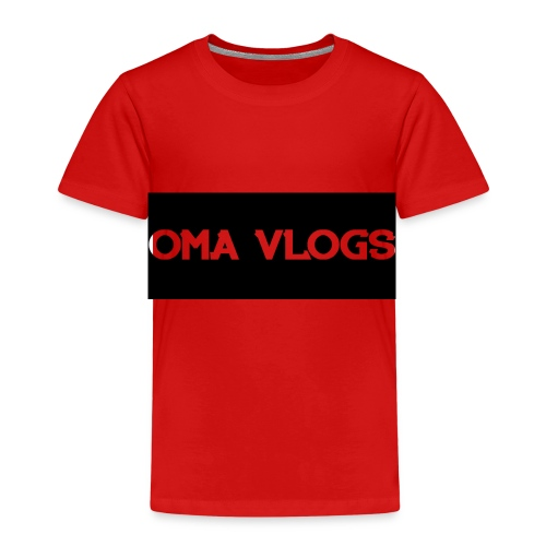 Oma Vlogs Black Logo - Kids' Premium T-Shirt