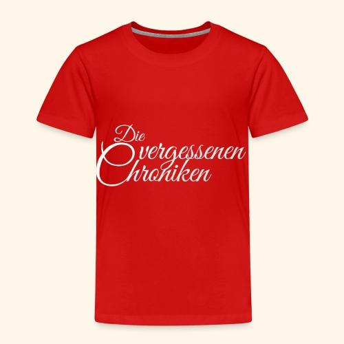 Die vergessenen Chroniken Logo (weiß) - Kinder Premium T-Shirt