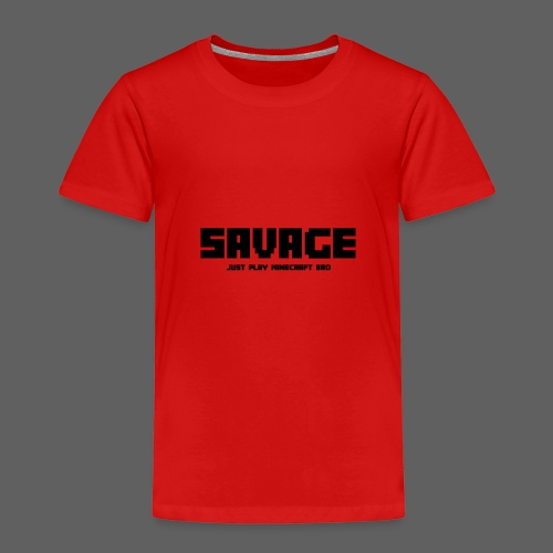 SAVAGE GAMER T-Shirt (kinderen) - Kinderen Premium T-shirt