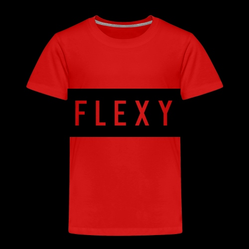 flexy shirt logo - Kids' Premium T-Shirt