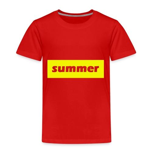 summer - Kinderen Premium T-shirt