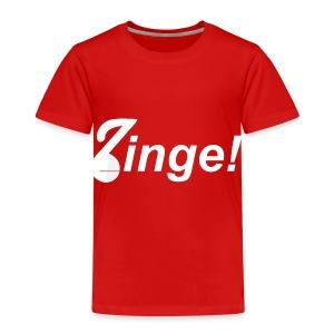 Banner wit - Kinderen Premium T-shirt