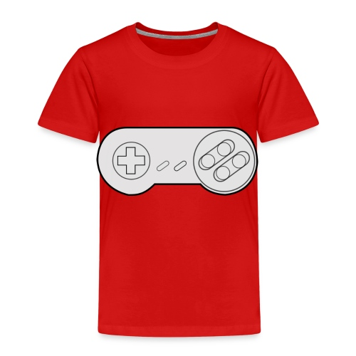 Super NES controller design - Kids' Premium T-Shirt