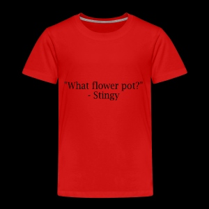 stingy quote - Kids' Premium T-Shirt