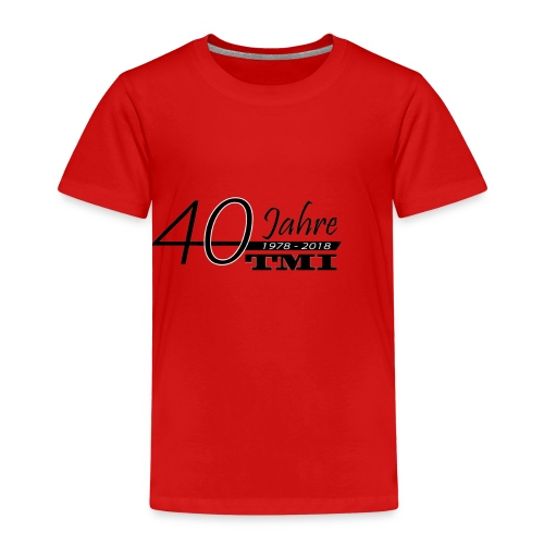 40 Jahre TMI - Kinder Premium T-Shirt