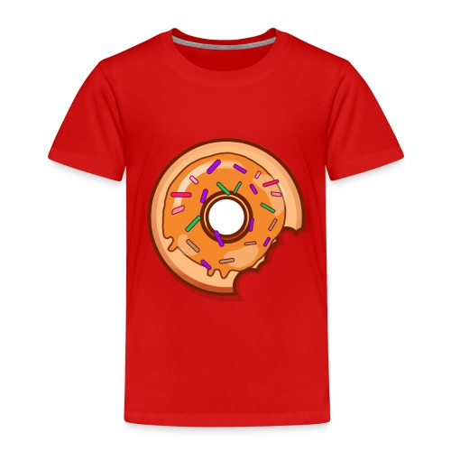 Where is one Part of my Donut? - Kinder Premium T-Shirt