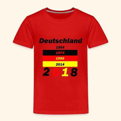 Deutschland Weltmeisterschaft - Kinder Premium T-Shirt