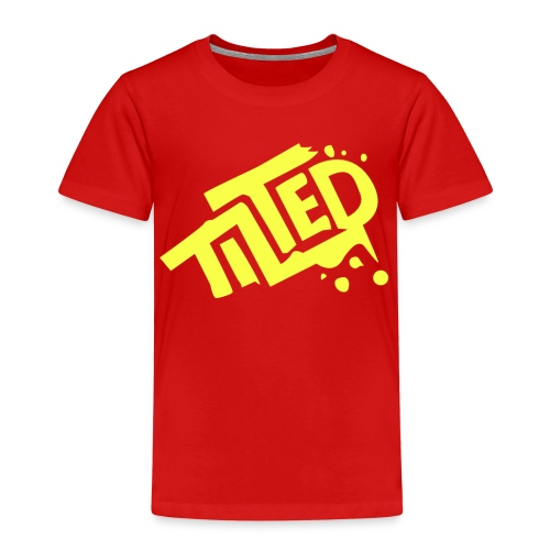 Fortnite Tilted (Yellow Logo) - Kids' Premium T-Shirt