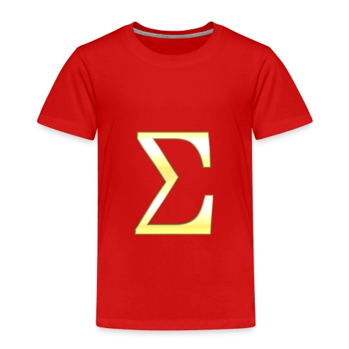 Sigma in Gold - Kinder Premium T-Shirt