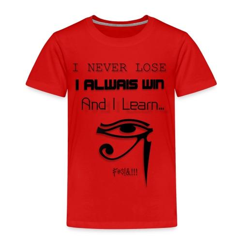 i never lose - Camiseta premium niño