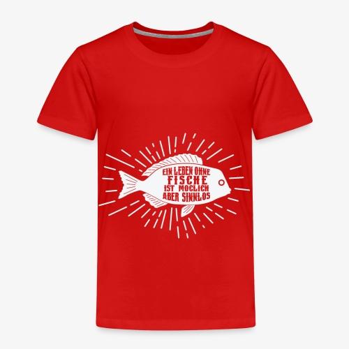 Schönes Aquariums Teich und Angler Shirt Geschenk - Kinder Premium T-Shirt