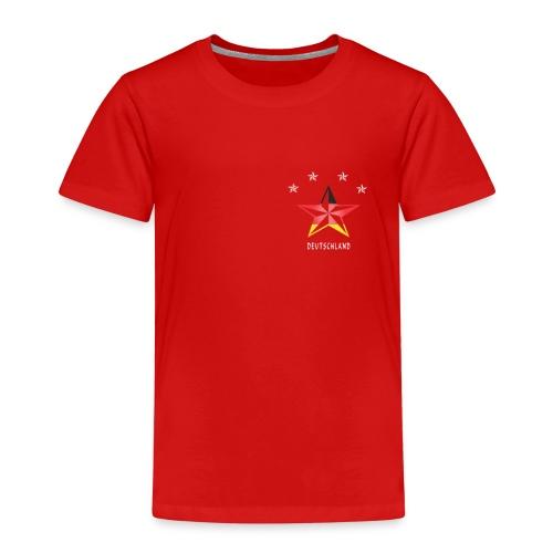 Deutschland Fahne Sterne Sport Fußball Fanshirt - Kinder Premium T-Shirt