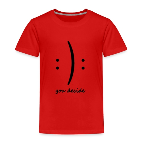 decide moji - T-shirt Premium Enfant