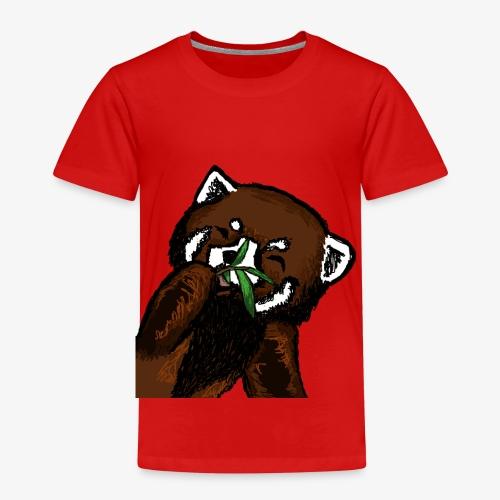 Cute red panda with Bamboo Wildlife T-Shirt - Kids' Premium T-Shirt