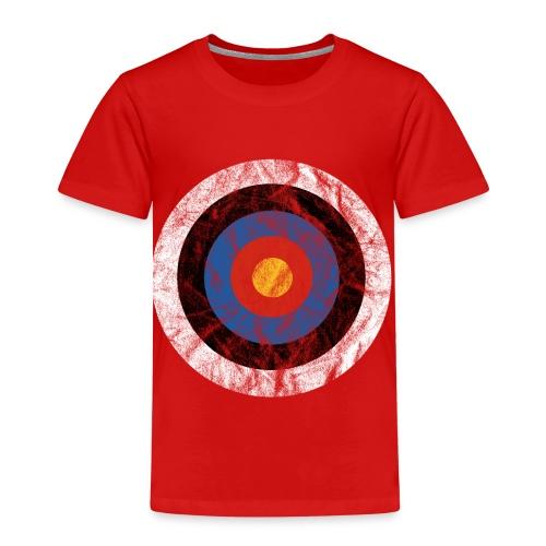 T-Shirt Bullseye Ziel Pfeil Bogen Archery Dart - Kinder Premium T-Shirt