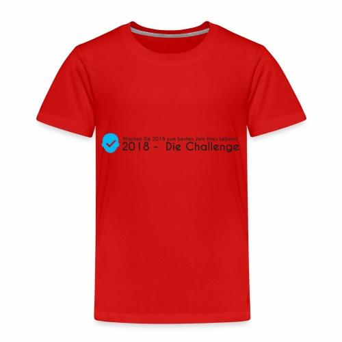 2018 - Challenge - Kinder Premium T-Shirt