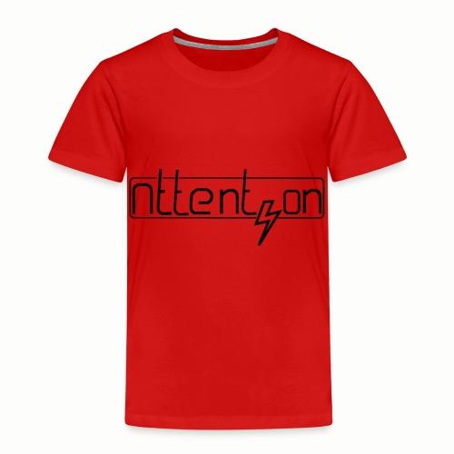attention - Kinderen Premium T-shirt
