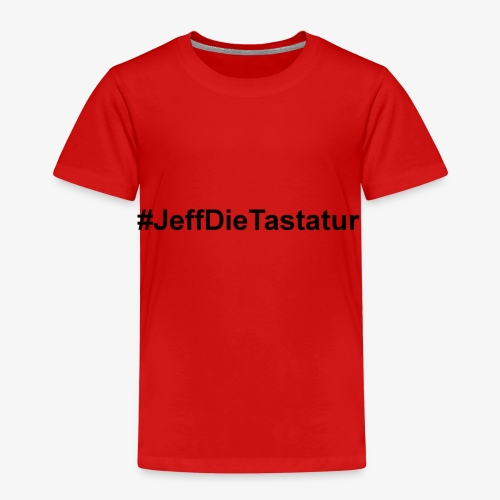 hashtag jeffdietastatur schwarz - Kinder Premium T-Shirt