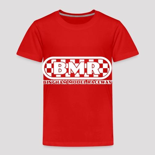 All white BMR logo - Kids' Premium T-Shirt
