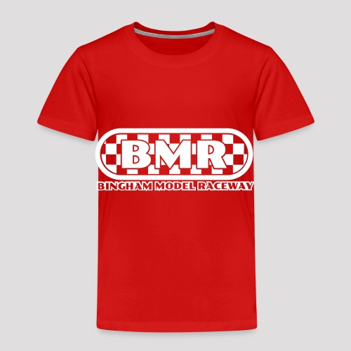 All white BMR logo - Kids' Premium T-Shirt