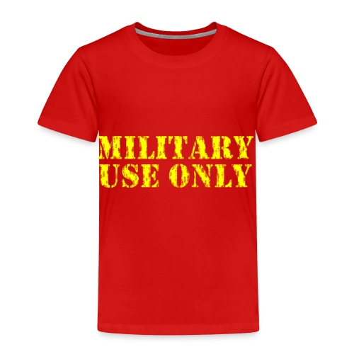 MILITARY USE ONLY ERRODED - Kids' Premium T-Shirt
