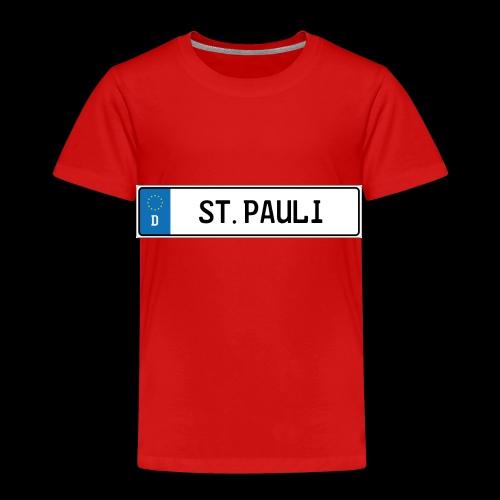 Kennzeichen St.Pauli - Kinder Premium T-Shirt