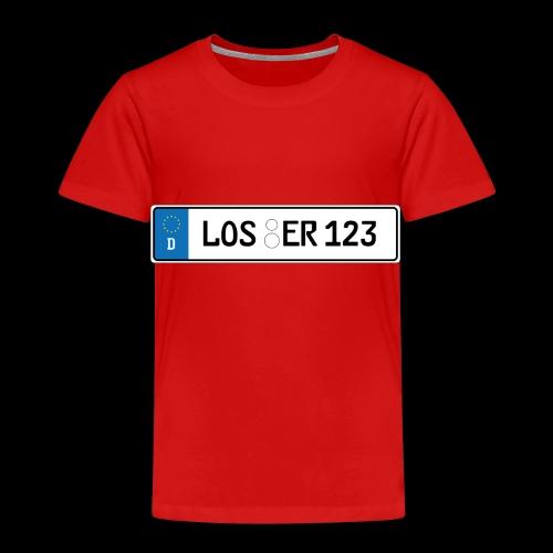 Kennzeichen Loser - Kinder Premium T-Shirt