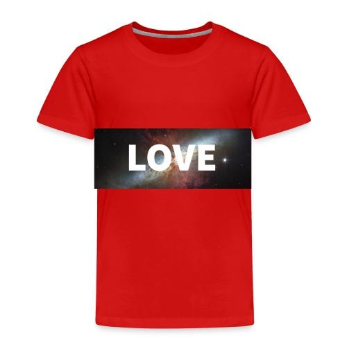 LOVE ❤️⭐️ - Kinder Premium T-Shirt