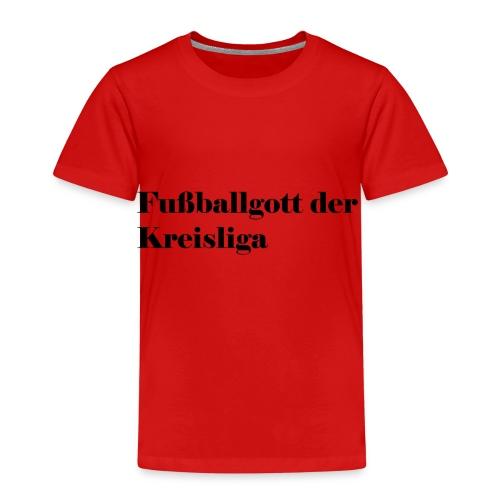 Fußballgott Kreisliga - Kinder Premium T-Shirt