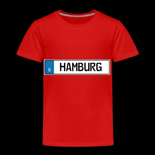 Kennzeichen Hamburg - Kinder Premium T-Shirt