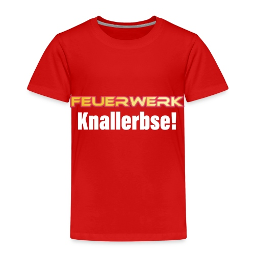 Feuerwerk Design 107 Knallerbse - Kinder Premium T-Shirt
