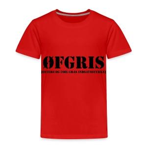 ØFGRIS - Børnekollektion - Børne premium T-shirt