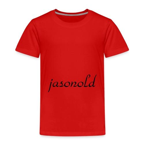 jasonold Schreibschrift - Kinder Premium T-Shirt