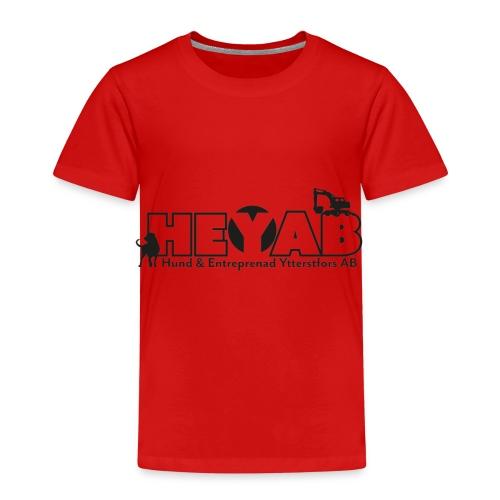 HEYAB logo outline - Premium-T-shirt barn