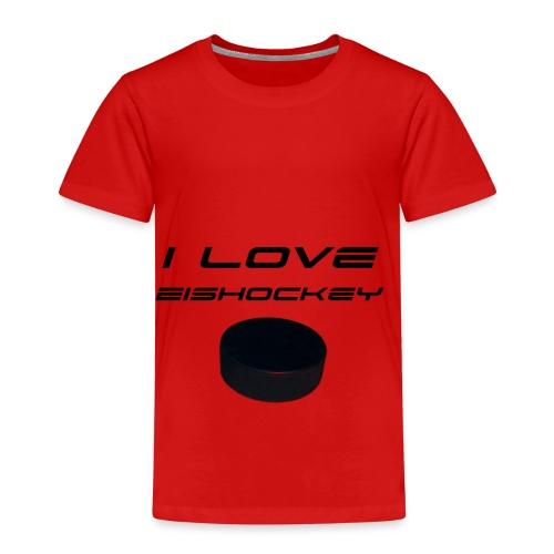 I love Eishockey - Kinder Premium T-Shirt