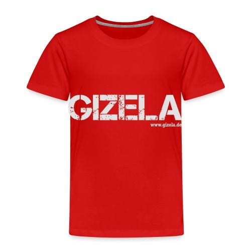 GIZELA white - Kinder Premium T-Shirt