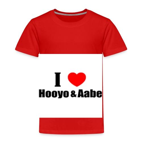 hooyo aabe1 - Kinderen Premium T-shirt