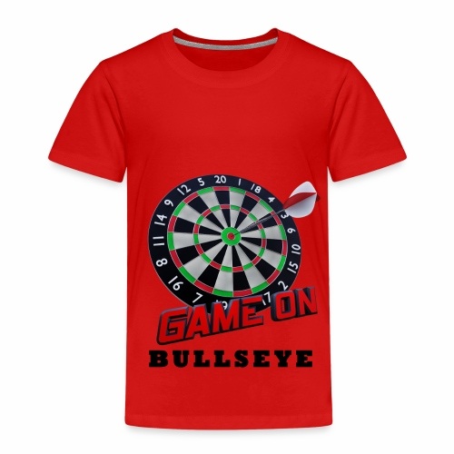 Darts Bullseye Game on - Kinderen Premium T-shirt