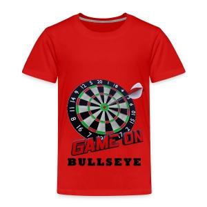 Darts Bullseye Game on - Kinderen Premium T-shirt