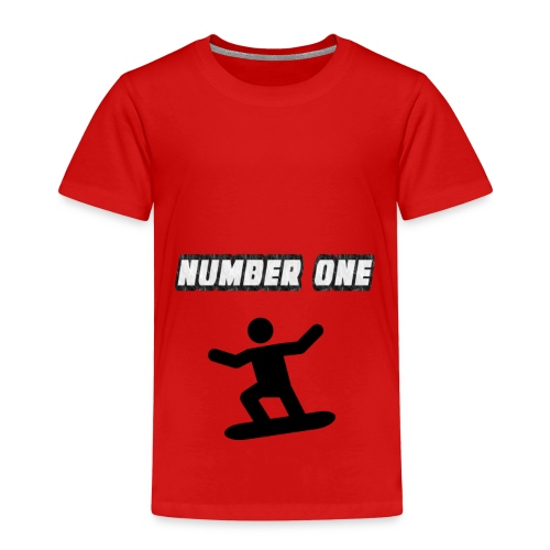 Number One Snowboarder - Kids' Premium T-Shirt