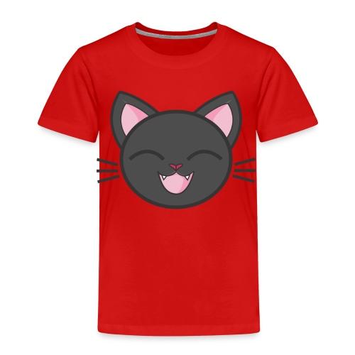 black cat - Kinder Premium T-Shirt