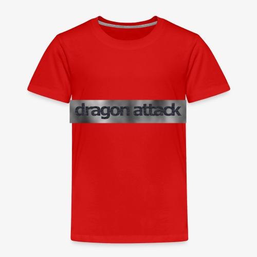 dragon attack grau - Kinder Premium T-Shirt