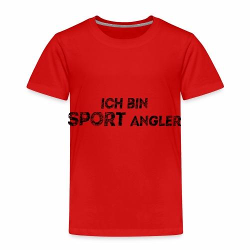ich bin sport angler - Kinder Premium T-Shirt