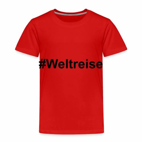#Weltreise in schwarz - Kinder Premium T-Shirt