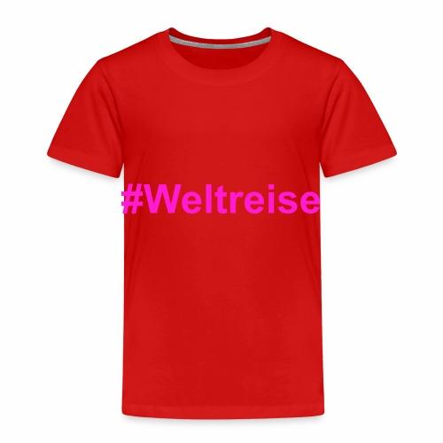 #Weltreise in pink - Kinder Premium T-Shirt