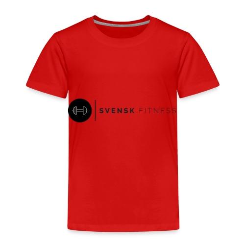 Svart logo - Premium-T-shirt barn
